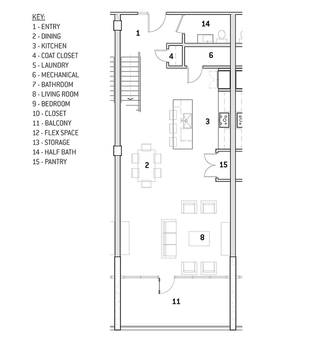 Unit Type B Floor Plan Image